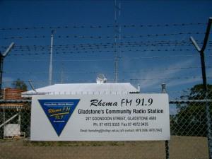 2001 R Studio Sign