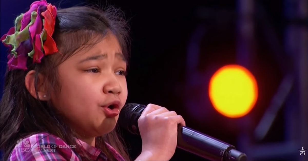 9-year-old blows America's Got Talent judges away