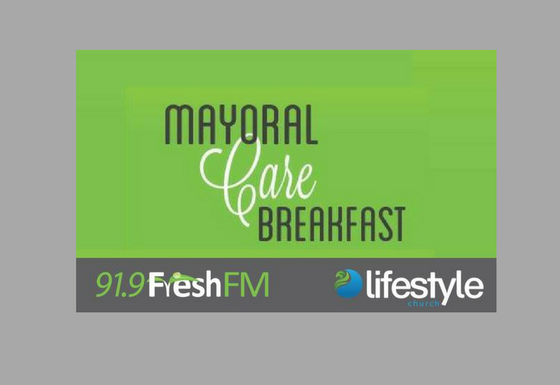 Mayoral Care Breakfast Friday 3 November 7am-9am