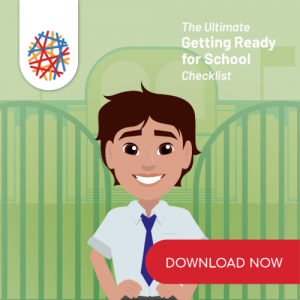 An image from the app of the ultimate getting ready for school checklist