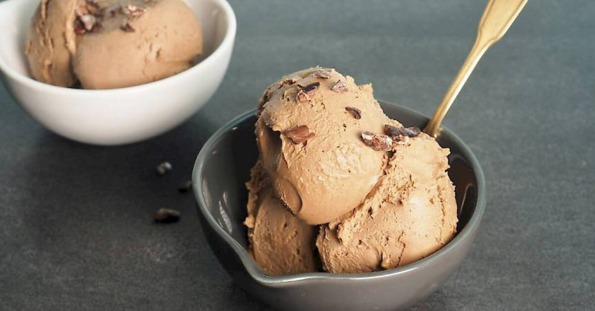 Chocolate Fudge Ice Cream Recipe (Dairy Free)