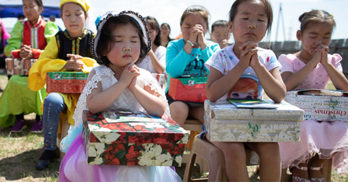 God uses Operation Christmas Child to Launch Mongolian Churches