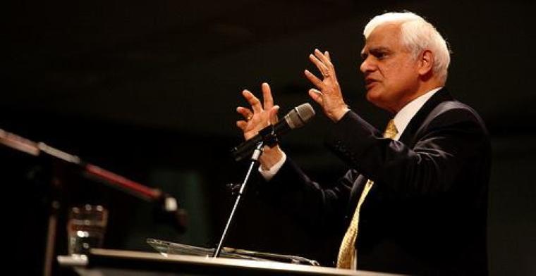 photo of ravi zacharias speaking