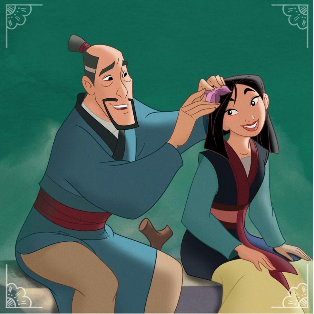 The 1998 'Mulan' Disney animated movie