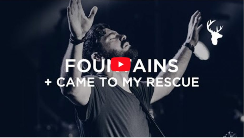 "Josh Baldwin and Kalley Heiligenthal lead ""Fountains"" and ""Came to my Rescue"" at Bethel Church."